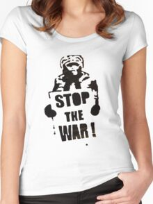 StopIt Women's Fitted Scoop T-Shirt