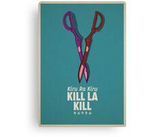 Kill La Kill Poster  Canvas Print