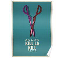 Kill La Kill Poster  Poster