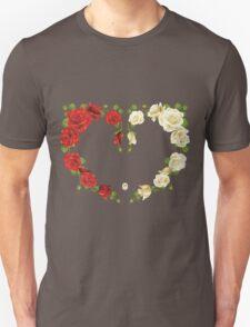 Heart of roses Unisex T-Shirt
