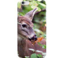 Breakfast with a Doe iPhone Case/Skin