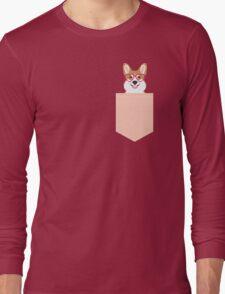 Corgi Love - Welsh Corgi funny nerd art dog lover gifts for pet owners customizable dog gifts Long Sleeve T-Shirt