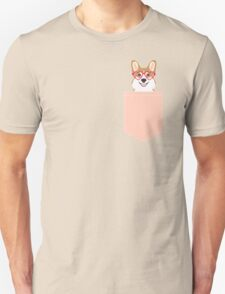 Corgi Love - Welsh Corgi funny nerd art dog lover gifts for pet owners customizable dog gifts Unisex T-Shirt