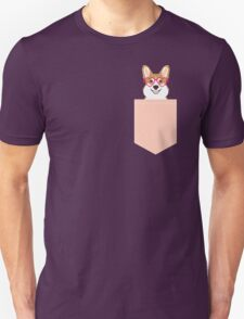 Corgi Love - Welsh Corgi funny nerd art dog lover gifts for pet owners customizable dog gifts T-Shirt