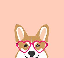 Corgi Love - Welsh Corgi funny nerd art dog lover gifts for pet owners customizable dog gifts by PetFriendly