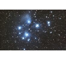 Pleiades Star Cluster Photographic Print