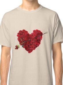 Heart of roses Classic T-Shirt