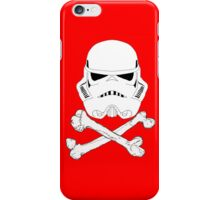 StormTrooper dead bones.  iPhone Case/Skin