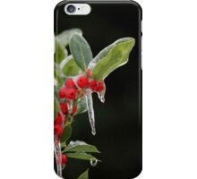 Holly on Ice iPhone Case/Skin