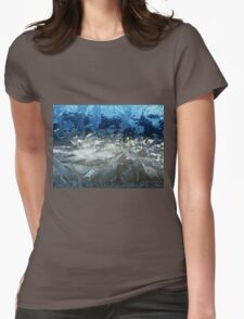 Icy Window Womens Fitted T-Shirt