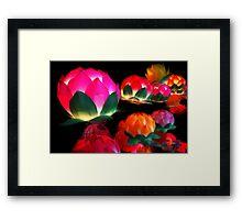 Lantern Festival Framed Print
