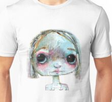 Something Big Eyed this way comes Unisex T-Shirt