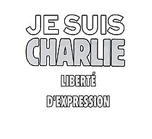 Je Suis Charlie - Stand up to Terrorism Photographic Print