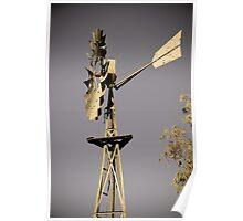Windmill - South Australia Poster