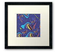 Coloured Sands Framed Print
