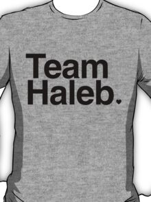 Team Haleb - black text T-Shirt