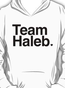 Team Haleb - black text T-Shirt