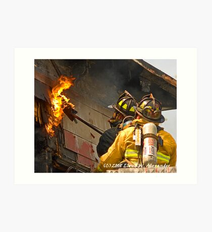 fire: Touching the flame Art Print