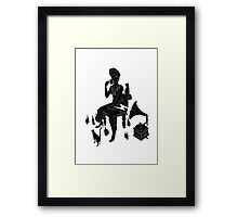 Drinking With Cats Framed Print