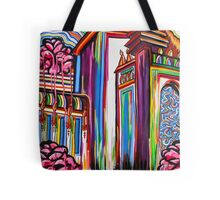 Rose Cathedral Tote Bag