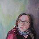 selfportrait by Sanne Thijs