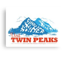Twin Peaks Visitor Canvas Print