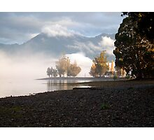 Lake Mist Photographic Print