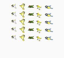Tiny birds print Unisex T-Shirt