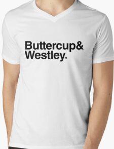 Buttercup & Westley Mens V-Neck T-Shirt