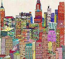 new york city skyline by bri-b