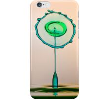 The green and the blue iPhone Case/Skin