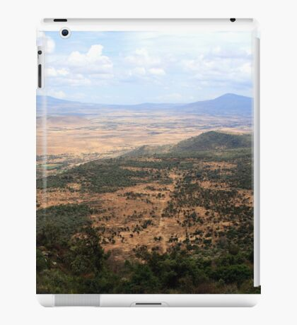 African Great Rift Valley iPad Case/Skin