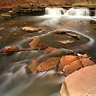 Waterfall Long Exposure by Adam Bykowski