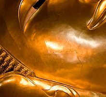 The big reclining Buddha at Wat Po, Bangok by Cvail73