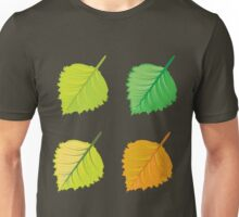 Colorful autumn leaves 4 Unisex T-Shirt