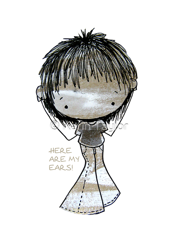 Here are my Ears - White NOise by © Cassidy (Karin) Taylor