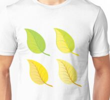 Colorful autumn leaves 3 Unisex T-Shirt