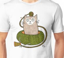 Knit One Purrl One Unisex T-Shirt