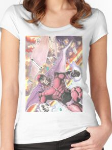 Magneto Master of Magnetism Women's Fitted Scoop T-Shirt