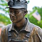 miner statue by Kevin Williams