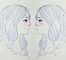 Gemini Twins by foreignmoons
