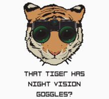 THAT TIGER HAS NIGHT VISION GOGGLES? - The Interview by GordonDragons