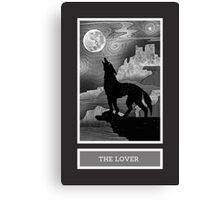 Shadow Season: THE LOVER Canvas Print
