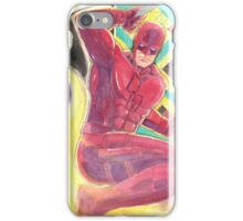 Fearless Daredevil Stained Glass and Smoke iPhone Case/Skin