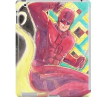 Fearless Daredevil Stained Glass and Smoke iPad Case/Skin