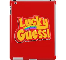 Lucky Guess iPad Case/Skin