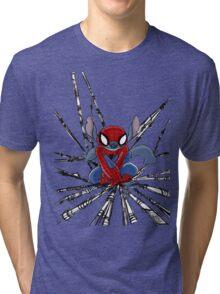 The Amazing Spider-Stitch Tri-blend T-Shirt