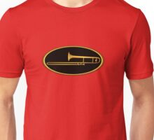 Trombone Gold sign Unisex T-Shirt
