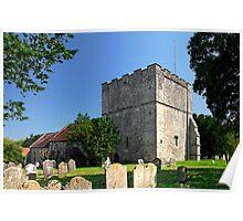 St Michael's Church, Shalfleet Poster