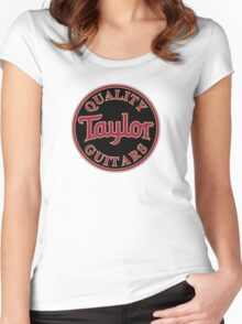 Quality Taylor Guitar Women's Fitted Scoop T-Shirt